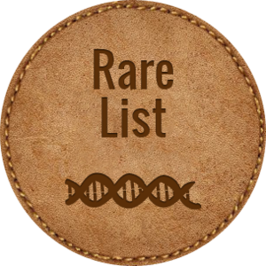 Rare disease genetic disorders list statistics medium